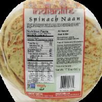 Indian Life Spinach Nan