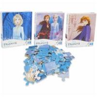 Disney Frozen II 3-Pack Puzzle Combo - 48 Pieces Each - 1