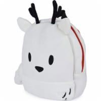 GUND 13 Inch Hilda Twig Soft Plush Kids Stuffed Animal School Backpack, White - 1 Unit