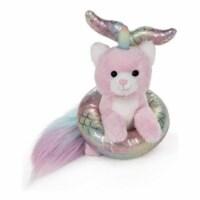 Gund Caticorn Pink Rainbow With Mermaid Plush Float 5.5 Inch Plush - 1 Unit