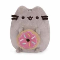 Gund Pusheen With Donut 4 Inch Plush Dangler Figure 6056172 - 1 Unit