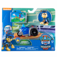 476ef314 Spin Master Paw Patrol Mission Paw Chase's Three-Wheeler Action Figure and  Vehicle
