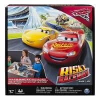 Disney Pixar Cars 3 Risky Raceway Board Game Family Friendly Fun Spin Master - 1 unit