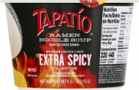 Tapatio Extra Spicy Ramen Noodle Soup