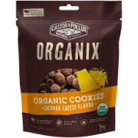 Castor & Pollux Organix Organic Cheese Flavored Dog Cookies