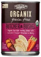 Castor & Pollux Organix Butcher & Bushel Turkey & Vegetables Dog Food - 12.7 oz