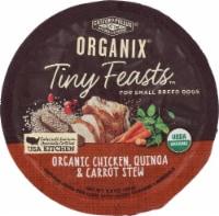 Castor & Pollux Organix Tiny Feasts Organic Chicken Quinoa & Carrot Stew Wet Dog Food - 3.5 oz