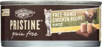 Castor & Pollux Pristine Free Range Chicken Recipe Pate Wet Cat Food - 5.5 oz