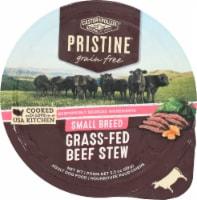 Castor & Pollux Pristine Grain Free Grass Fed Beef Stew Small Breed Wet Adult Dog Food - 3.5 oz