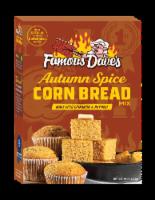Famous Dave's Autumn Spice Corn Bread Mix - 15 oz