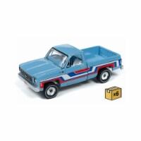 1976 Chevrolet Bonanza Truck in Skyline Blue With Stripes - 6 Piece - 1