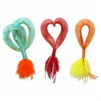 Mesh Cat Toy with Catnip - Assorted Color, Pack of 144