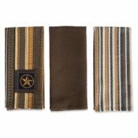 Applique Star Dish Towel Set - Set of 3