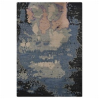 10 x 14 ft. Hand Knotted Wool Contemporary Rectangle Area Rug, Multi Color - 1