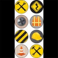 Under Construction Mini Stickers