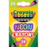 Neon Crayons, 24 Colors - 1