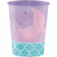 Iridescent Mermaid Party 16 oz Favor Cup