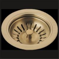 Kitchen Sink Flange & Strainer - Champagne Bronze