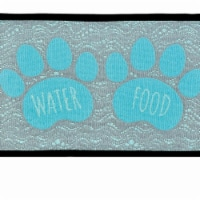 Foot & Water Fashion Mat for Dogs