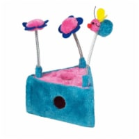 Triangle Flowers & Bee Scratcher Toy