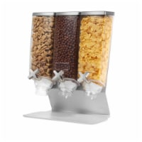 EZ - ProThree Container Table Top Dispenser with Silver Metal Stand, 1 gal