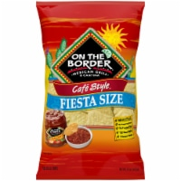 On the Border Cafe Style Fiesta Size Tortilla Chips