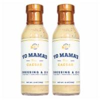 Keto Caesar Salad Dressing by Yo Mama's Foods (2) Bottles