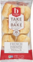 La Brea Take & Bake French Dinner Rolls 6 Count