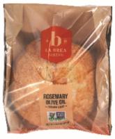 La Brea Sliced Rosemary Olive Oil Round Bread