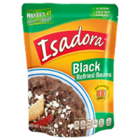 Isadora Black Refried Beans Pouch