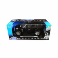 Welly 12536bk 1 by 18 Diecast for 2003 Land Rover Range Rover Model Car, Black - 1
