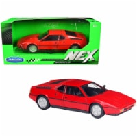 BMW M1 Coupe Red \NEX Models\ 1/24 Diecast Model Car by Welly - 1