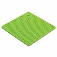 HIC 234793 7 in. Baking Essentials Honeycomb Trivet, Kiwi - 1