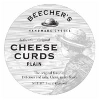 Beecher's Original Plain Cheese Curds - 5 oz