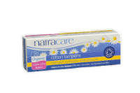 Natracare Super Plus Cotton Tampons - 20 ct