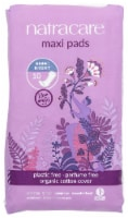 Natracare Night-time Maxi Pads - 10 ct