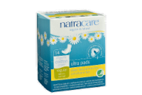 Natracare Organic Ultra Slender Pads with Wings