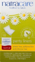 Natracare Organic Cotton Normal Panty Liners - 18 ct