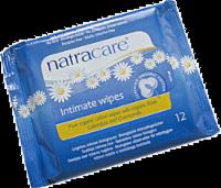 Natracare Organic Cotton Intimate Wipes - 12 ct