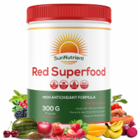 Red Superfood - Kiwi Strawberry Organic Supplement - For Workout Recovery - 300g Powder - 1
