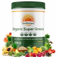 Organic Super Greens - Watermelon Non - Supports Healthy Digestion - 225g Powder - 1
