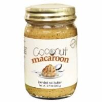 Coconut Macaroon Blended Nut Butter 12 oz - 1