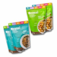 Brassi Healthy Cauliflower Oatmeal | Apple + Spice | Cacao + Coconut - 4 Pack Bundle - 1