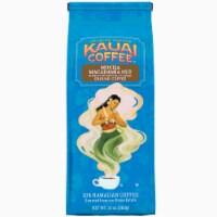 Kauai Hawaiian Ground Coffee, Mocha Macadamia Nut Flavor (10 oz Bag) - 10 Ounce (Pack of 1)