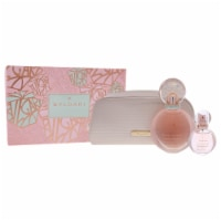 Bvlgari Rose Goldea Blossom Delight 2.5oz EDP Spray, 0.5oz EDP Spray, Pouch 3 Pc Gift Set