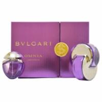 Bvlgari Omnia Amethyste by Bvlgari for Women - 2 Pc Gift Set 2.2oz EDT Spray, 0.5oz EDT Spray