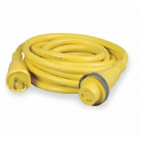 Hubbell Wiring Device-Kellems Shore Power Cable,50ft,10Ga,30A,STOW,Yel HBL61CM08 - 1