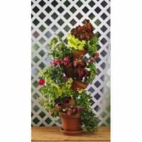 Flip Flop Flower Pot 301W Stackable Plant Stand - 1