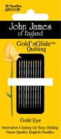 John James Gold'n Glide Quilting Needles-Size 11 10/Pkg - 1