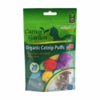 Multipet Catnip Garden Organic Catnip Puffs - 12 ct